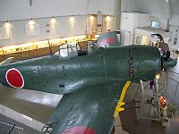 A recovered and preserved Kawanishi N1K fighter which may have been operated by one of the six Japanese airmen from the 343rd Kōkūtai (Air Group) who were downed over the Bungo strait on 24 July 1945
