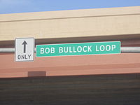 The Bob Bullock Expressway in Laredo, Texas is an outlying segment of Interstate 35.