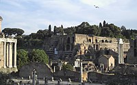 The Ancient-Imperial-Roman palaces of the Palatine, a series of palaces located in the Palatine Hill, visibly express the power and wealth of emperors from Augustus until the 4th century.