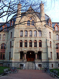 Claudia Cohen Hall, formerly Logan Hall, home of the College of Arts and Sciences and former home of the Wharton School and originally, the medical school