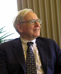 Warren Buffett, considered by some to be one of the most successful investors in the world<ref>{{cite web title=Ten great investors url=http://www.incademy.com/courses/ten-great-investors/-warren-buffett/1/1040/10002 website=Incademy Investor Education publisher=Harriman House Ltd. access-date=November 20, 2015 url-status=dead archive-url=https://web.archive.org/web/20151120201106/http://www.incademy.com/courses/ten-great-investors/-warren-buffett/1/1040/10002 archive-date=November 20, 2015}}</ref><ref>{{cite web last=Farrington  first=Robert  title=The top 10 investors of all time  url=http://thecollegeinvestor.com/972/the-top-10-investors-of-all-time/  website=The College Investor  access-date=November 20, 2015  archive-url=https://web.archive.org/web/20151120150833/http://thecollegeinvestor.com/972/the-top-10-investors-of-all-time/  archive-date=November 20, 2015 url-status=live}}</ref>