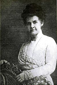 Martha Hughes Cannon, first female state senator elected in the United States