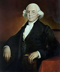 James Wilson, Founding Father; one of the six original justices appointed by George Washington to the Supreme Court of the United States