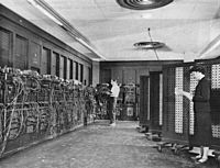 ENIAC, the first general-purpose electronic computer, was born at Penn in 1946.