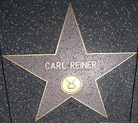 Reiner's star on the Hollywood Walk of Fame