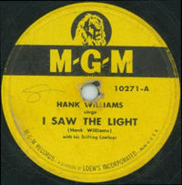 I Saw the Light (Hank Williams song)