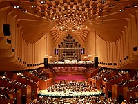 A concert at the Sydney Opera House