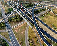 Light Horse Interchange, the largest of its kind in Australia