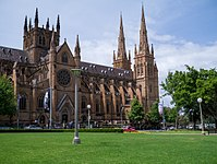 St Mary's Cathedral, is the cathedral church of the Roman Catholic Archdiocese of Sydney.