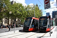 The CBD and South East Light Rail connects Sydney's CBD with the South Eastern suburbs
