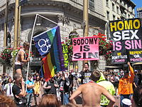 Religious protest of homosexuality in San Francisco