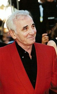 Aznavour at the 1999 Cannes Film Festival