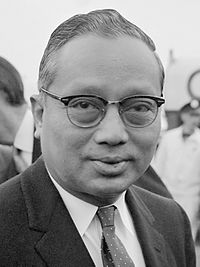 The former Secretary-General of the United Nations, U Thant (1961–1971)