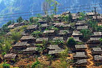 Mae La camp, Tak, Thailand, one of the largest of nine UNHCR camps in Thailand