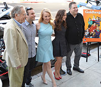 From left to right: Segal, Gentile, McLendon-Covey, Orrantia, and Garlin