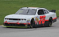 The No. 76 car for Martins Motorsports, which Allen would drive in two races in 2014