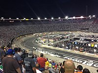 The Food City 300 at Bristol Motor Speedway in August