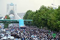 The Green Movement's Silent Demonstration during the 2009–10 Iranian election protests