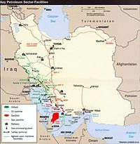 Iran holds 10% of the world's proven oil reserves and 15% of its gas. It is OPEC's second largest exporter and the world's 7th largest oil producer.