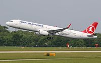 Turkish Airlines, the flag carrier of Turkey, is the largest carrier in the world by number of countries served.