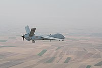 TAI Anka is a family of unmanned aerial vehicles (UAV) developed by Turkish Aerospace Industries. Turkey has 47 active TAI Anka in its inventory.
