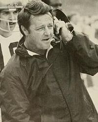 Bobby Bowden, WVU head coach (1970–75) and the 3rd all-time leader in wins in college football history.