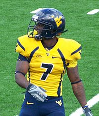 Noel Devine, WVU's third all-time leading rusher (4,315 yards).