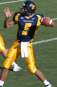 Pat White, two-time Heisman Trophy candidate and 2007 Archie Griffin Award recipient.