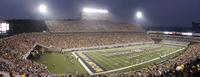 Panoramic view inside of Mountaineer Field in 2004.