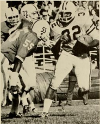 In 1966, Garrett Ford, Sr. became the first Mountaineer to rush for 1,000 yards.