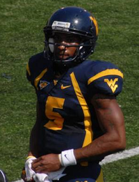 Pat White, the NCAA's second all-time rushing leader amongst Quarterbacks (4,480 yards).