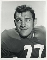 Bruce Bosley, 1955 Consensus All-American, three-time All-SoCon selection and College Football Hall of Fame inductee.