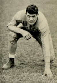 Joe Stydahar, one of two Mountaineers to be inducted in the Pro Football Hall of Fame.