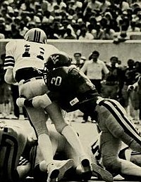 Darryl Talley, WVU's most recent College Football Hall of Fame inductee.