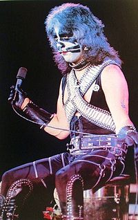 Criss performing in 1977