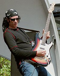 Bruce Kulick (pictured here in 2002) was the lead guitarist for Kiss from 1984 to 1996.