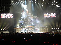 AC/DC performs at Rogers Centre in Toronto on 7 November 2008 during their Black Ice World Tour