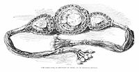 In the armlet given to Victoria