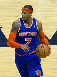 Carmelo Anthony, a multiple-time All-Star, played for the Knicks from 2011 to 2017