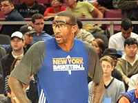 Amar'e Stoudemire, NBA Rookie of the Year in 2003, played for the Knicks from 2010 until 2015
