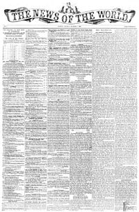 Front-page of the first issue