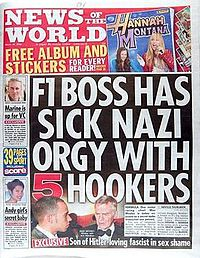 Max Mosley won damages for the newspaper's invasion of privacy and incorrect assertion about the Nazi theme in Mosley v News Group Newspapers Limited