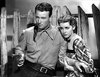 With Marsha Hunt in Born to the West (1937)