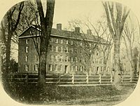The Divinity College dormitory on the Old Campus, completed in 1836