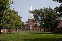 Sterling Divinity Quadrangle, campus of the Yale Divinity School