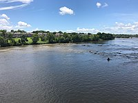 Lexington County (Cayce) from the banks of the Congaree River.