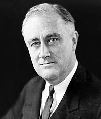 Franklin D. Roosevelt, 32nd President of the United States (1933–1945)