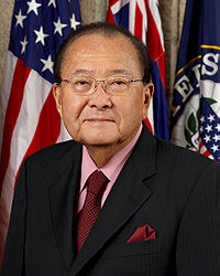 Daniel Inouye was a Medal of Honor recipient who served nearly 60 years in elected office as a Democrat. He was the first Japanese-American elected to the House of Representatives and Senate.