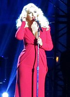 Christina during a performance in 2014