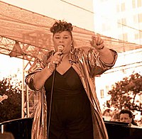 Aguilera cites Etta James (pictured) as her main influence